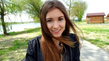 Na fotografii Sylwia hostessa